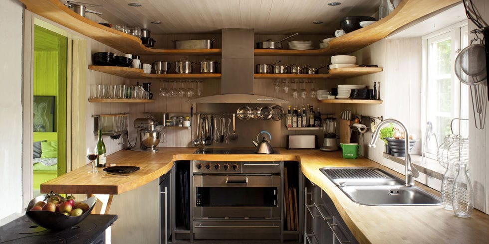 Tips On Using Small Kitchen Space Effectively
